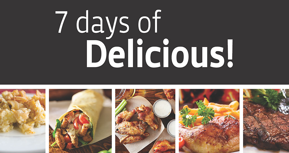 7 Days of Delicious!